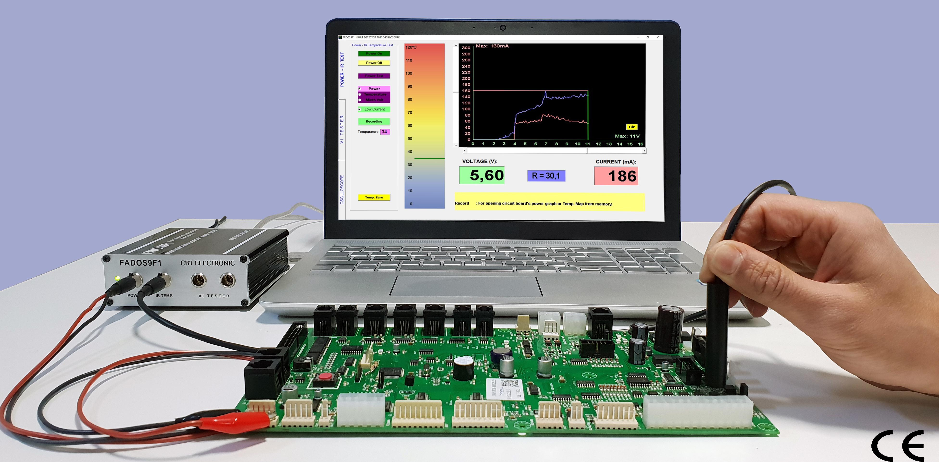 Power - IR Temperature Test